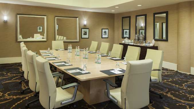 Register for your event or mingle with guests in the pre-function area outside our ballroom.
