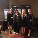 Monica Pierce of Local Trade Partners, June McBride of Atlantic Barter, Terri Winsett of Trade Network and Kim Ames, CTB Trainer and President of TradeAmericanCard